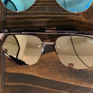 Pink Aviator Quay Sunglasses